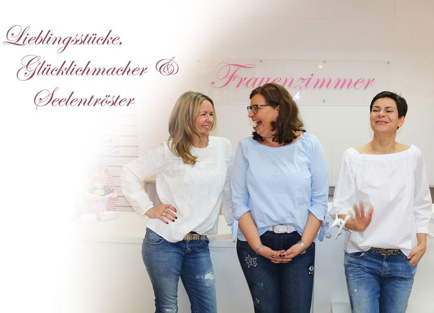 Das Frauenzimmer Team freut sich auf Ihren Besuch